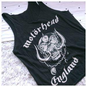 Motörhead England Vintage Aged Tank Top